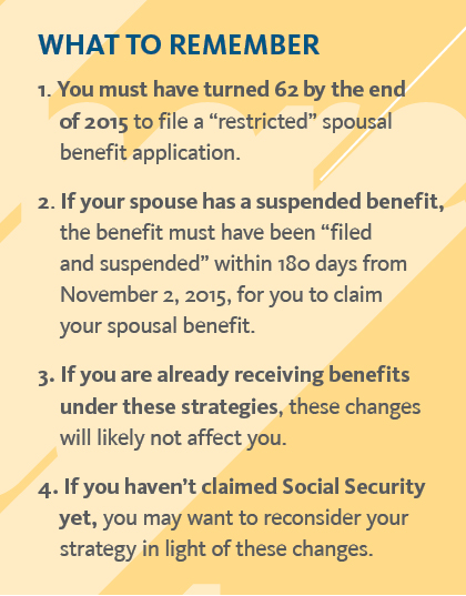 University Of California New Rules For Social Security